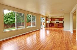 light colored hardwood floor