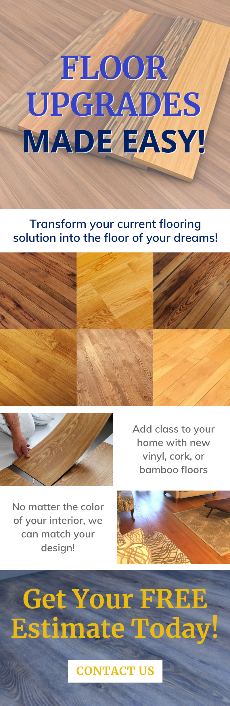 Upgrade Your Home's Floors! 👍 1